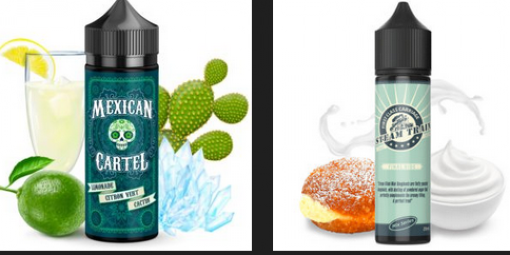 It can be combined with the products flanked by the vape shop Green Cloud